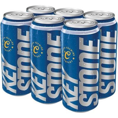 Keystone Light Beer - 6pk/16 fl oz Cans
