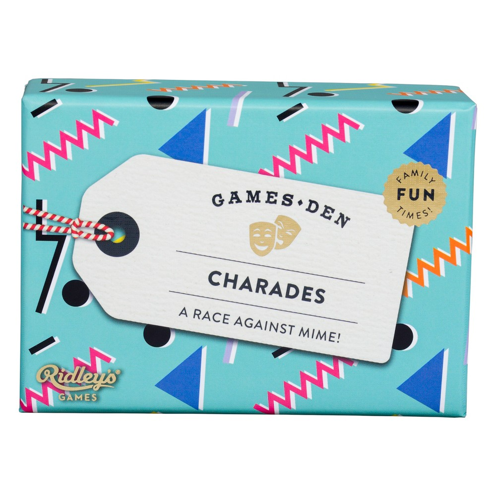 Ridley's Charades, Flash Cards