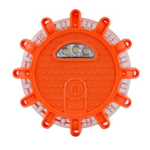 FRED Light Flashing Roadside Emergency Disk Orange - Wagan - image 1 of 14