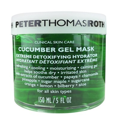 Facial Treatments: Peter Thomas Roth Cucumber Gel Mask Extreme Detoxifying Hydrator