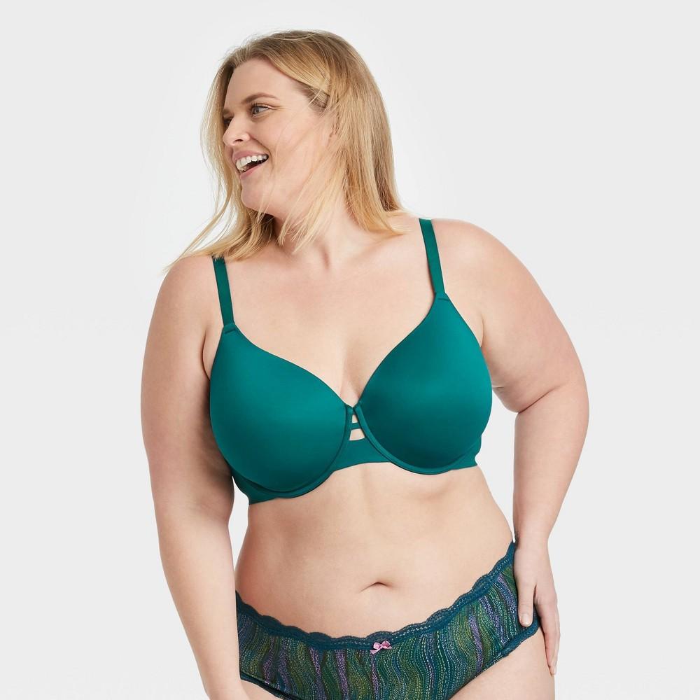 Women 39 S Plus Size Back Smoothing Bra Auden 8482 Teal 42ddd