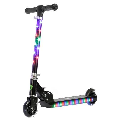 jetson jupiter kick scooter with led lights black target