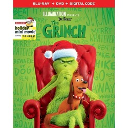 Dr. Seuss' The Grinch (Blu-Ray + DVD + Digital)
