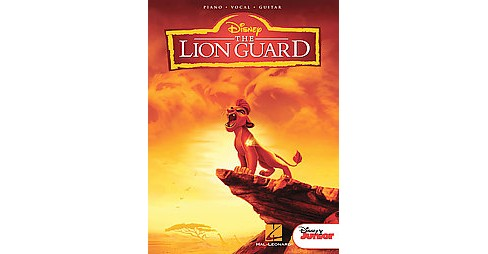 Lion Guard : Music from the Disney Junior Series Soundtrack (Paperback) - image 1 of 1