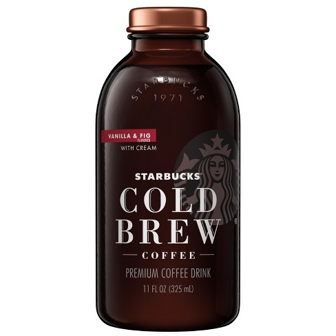 Starbucks Cold Brew Vanilla and Fig - 11 fl oz Glass Bottle - image 1 of 2