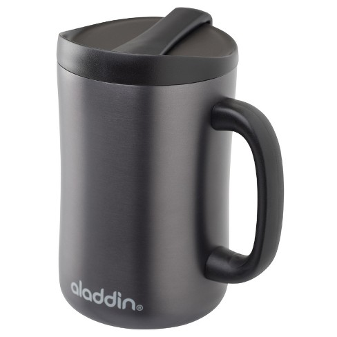 Aladdin Stainless Steel Insulated Coffee Travel Mug 16oz Black Target