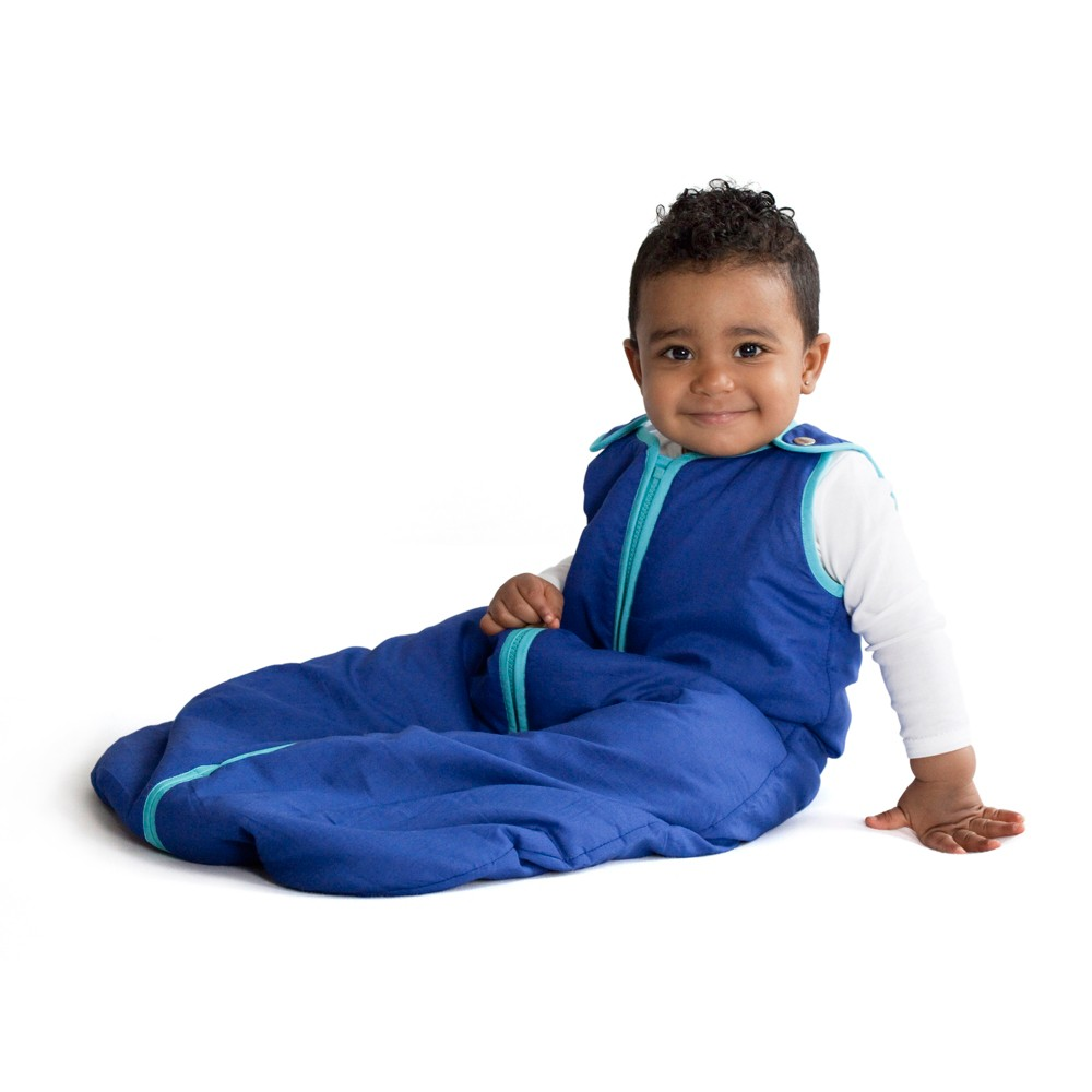 Image of baby deedee Sleep Nest Peacock - L (18-36M), Infant Boy's, Size: Large, Blue/Turquoise