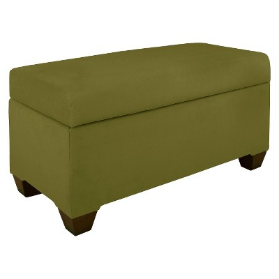 Custom Upholstered Storage Bench - Skyline Furniture