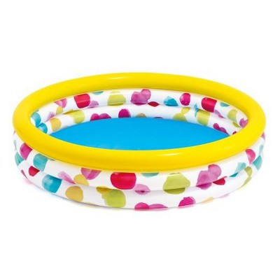 Intex 66  X 15  Wild Geometry Inflatable Pool