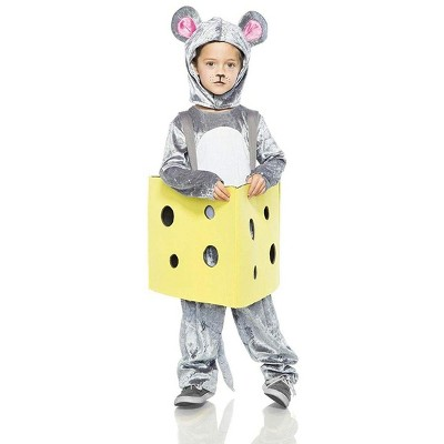 Seeing Red Mouse in Cheese Child Costume