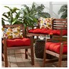 Solid Outdoor Bench Cushion - Kensington Garden - image 3 of 4