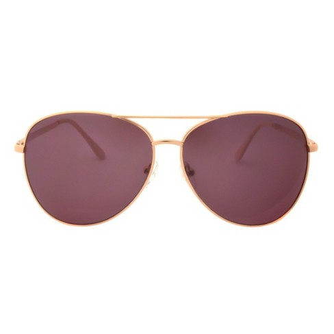 Women's Two Tone Sunglasses - A New Day™ Bright Gold - image 1 of 2