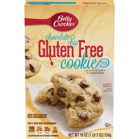 Betty Crocker Gluten Free Chocolate Chip Cookie - 19oz
