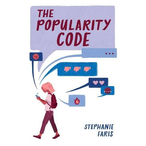 The Popularity Code - (Mix) by  Stephanie Faris (Hardcover) - image 1 of 1