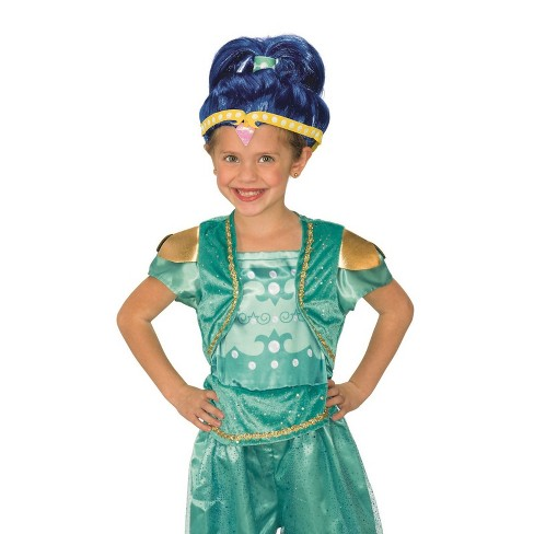 Girls' Shimmer and Shine Shimmer Costume Wig - image 1 of 1