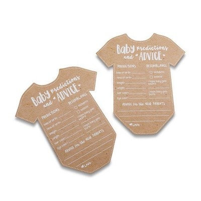 50ct Baby Prediction Game Cards