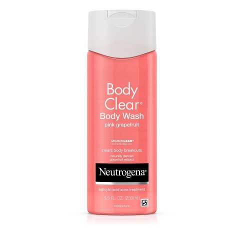 Neutrogena Body Clear Pink Grapefruit Acne Body Wash - 8.5 fl oz - image 1 of 8