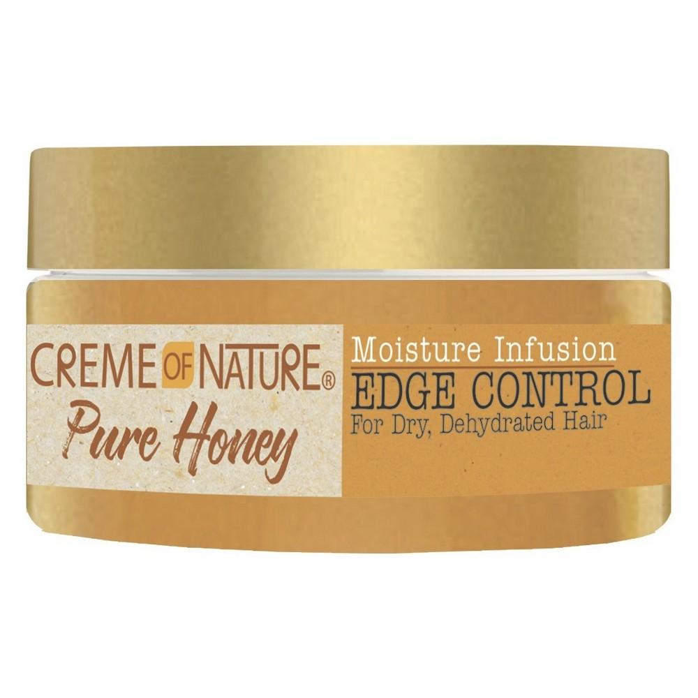 Image of Cream of Nature Pure Honey Moisture Infusion Edge Control - 2.25 fl oz
