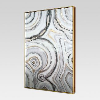 "Geode Framed High Gloss Canvas 40""x25"" - Project 62™"