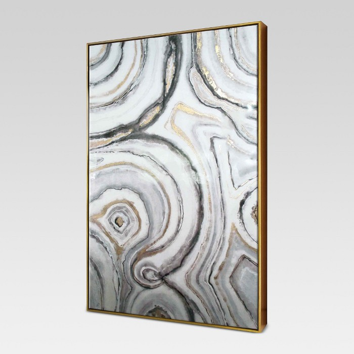 "Geode Framed High Gloss Canvas 40""x25"" - Project 62™ - image 1 of 5"