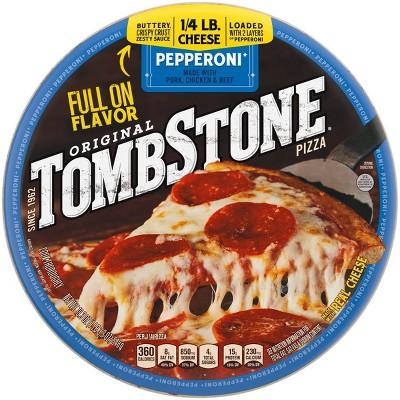 Tombstone Original Pepperoni Frozen Pizza - 19.3oz