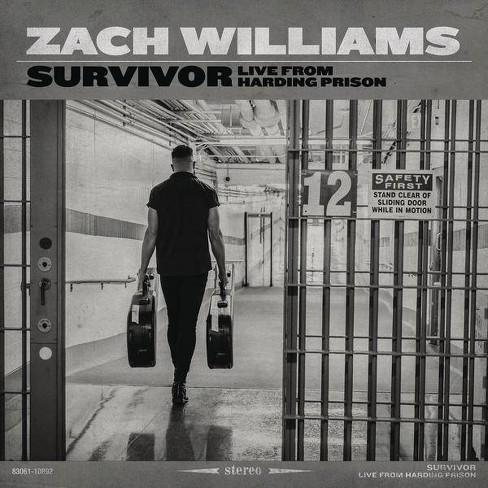 Zach Williams - Survivor: Live From Harding Prison (CD) - image 1 of 1