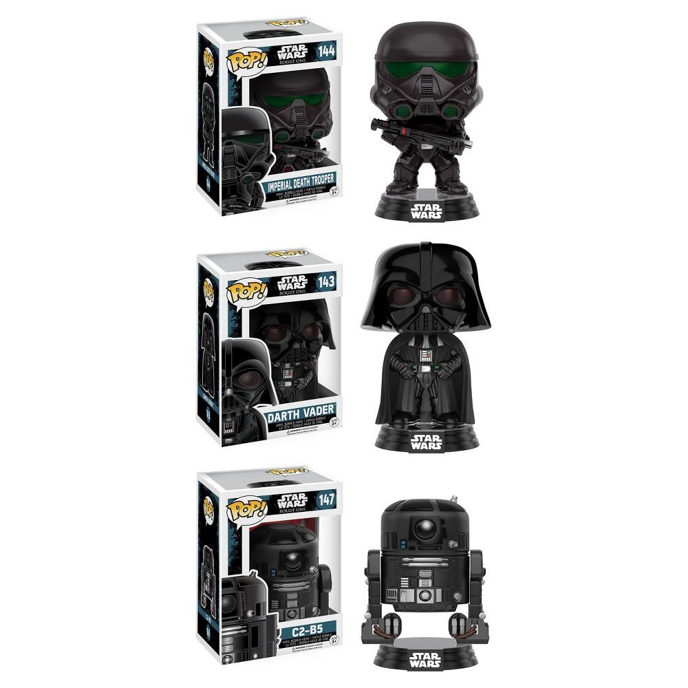 Funko Star Wars: Rouge One Pop! Collectors Set #2; Imperial Death Trooper, Darth Vader, C2-B5