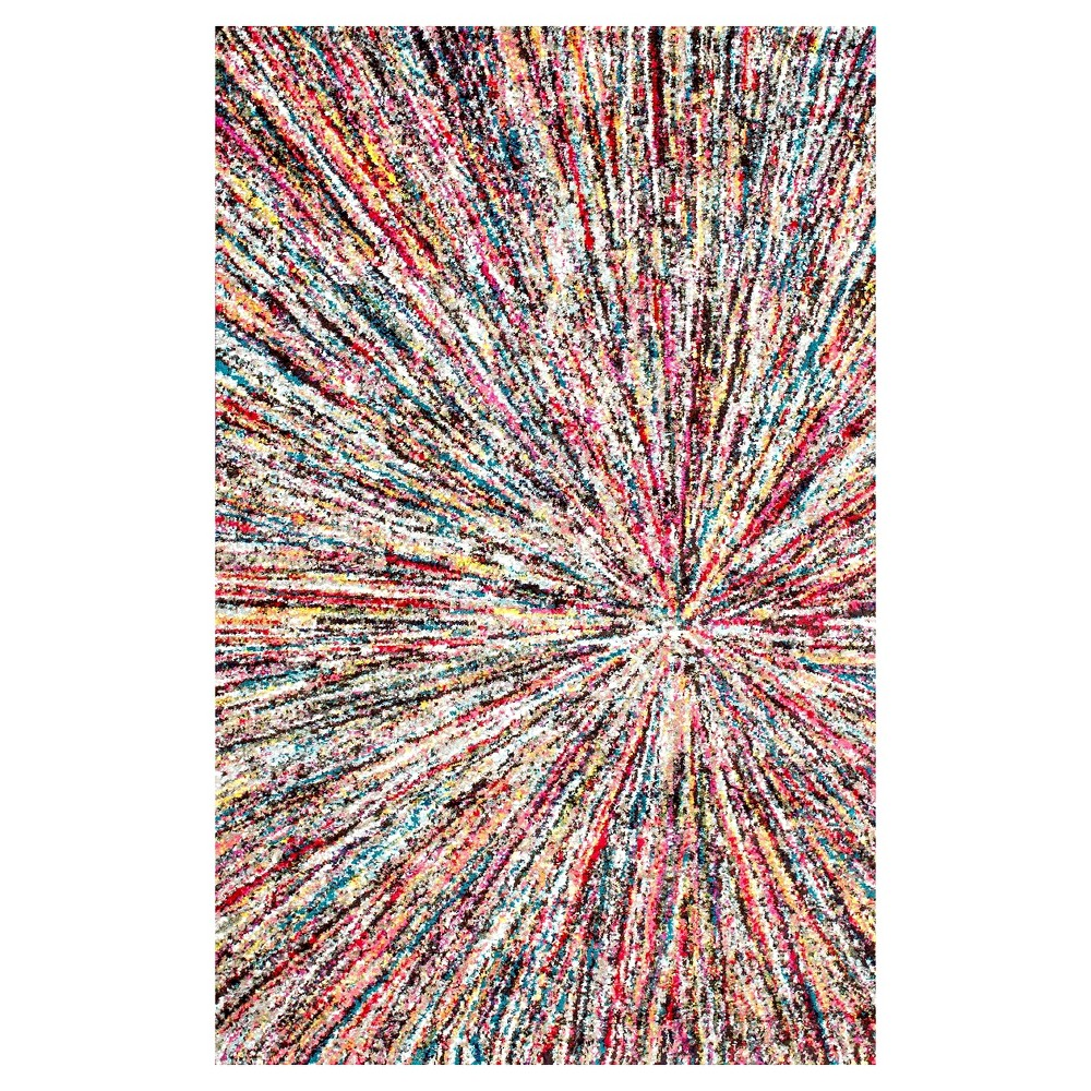 Solid Loomed Area Rug - (8'x10') - nuLOOM, Multi-Colored