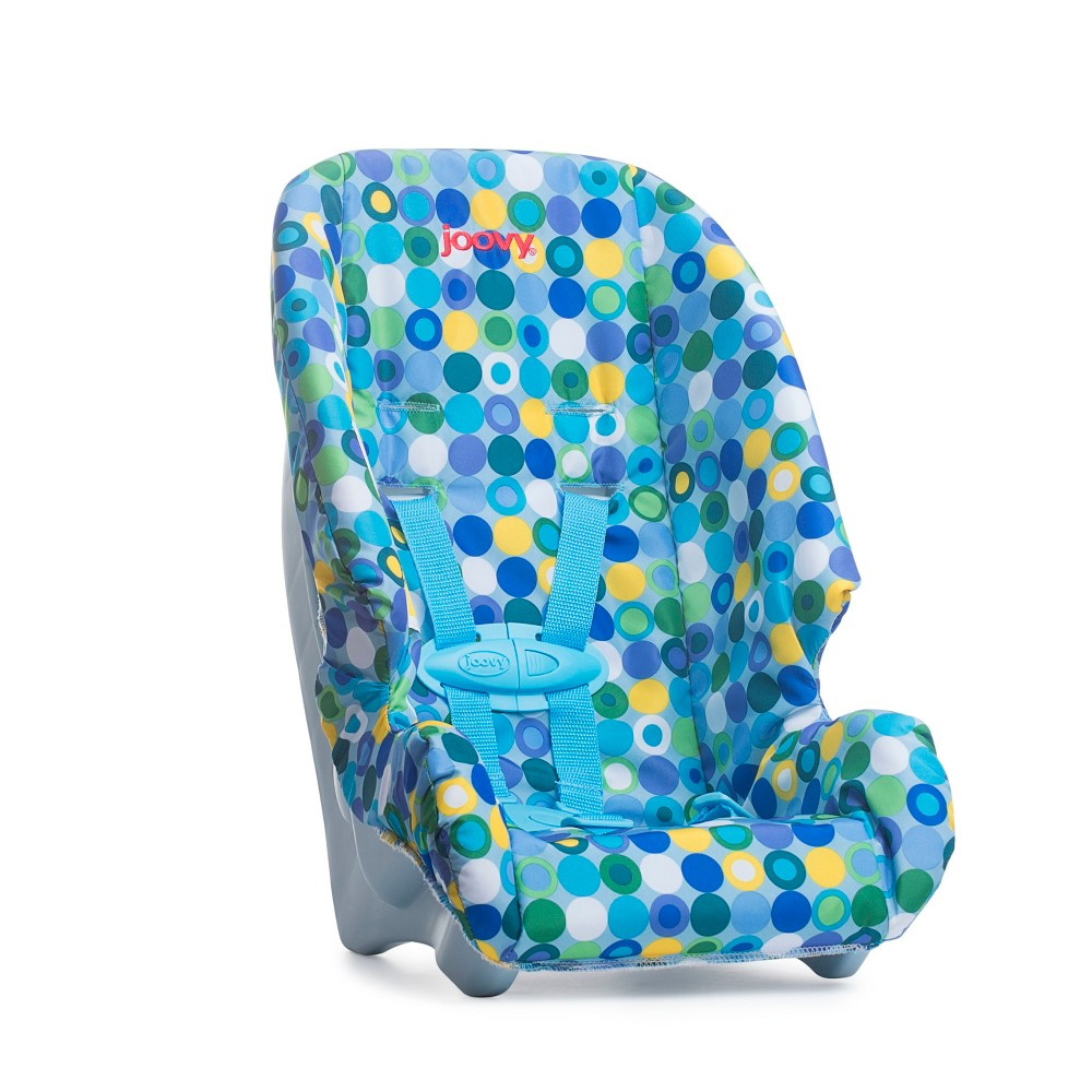 Joovy Baby Doll Booster Seat - Blue Dot