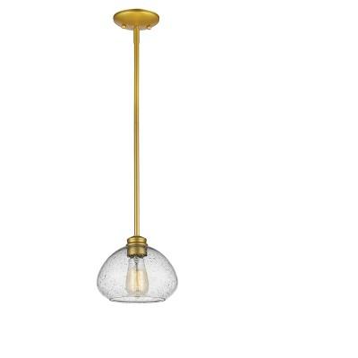 """6.5"""" Ceiling Light Mini Pendant Satin Gold - Z-Lite"""