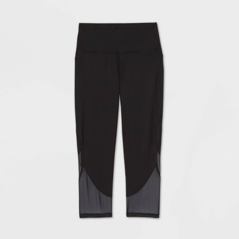 """Women's Contour Curvy High-Waisted Capri Leggings 21"""" - All in Motion™ - image 1 of 2"""