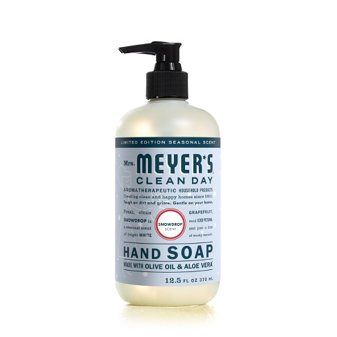 Mrs. Meyer's Clean Day Hand Soap - Snowdrop - 12.5 fl oz - image 1 of 3