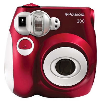 Polaroid PIC-300 Instant Camera - Red