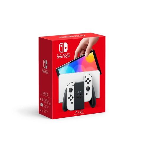 Nintendo Switch (OLED Model) with White Joy-Con - image 1 of 4