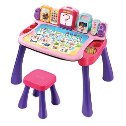 VTech Explore And Write Activity Desk - Pink