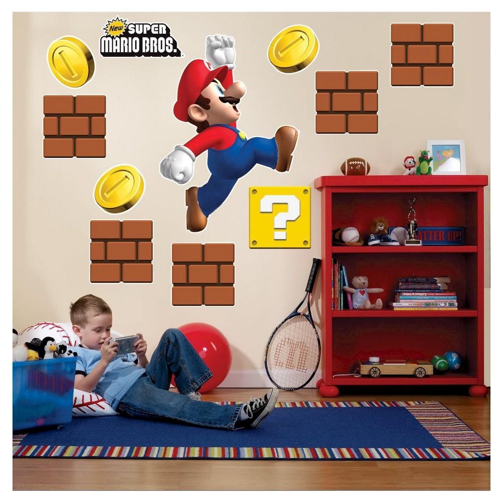 Super Mario Bros. Wall Decal
