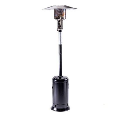 Portable Outdoor Propane Patio Heater Hammered Black - Legacy Heating