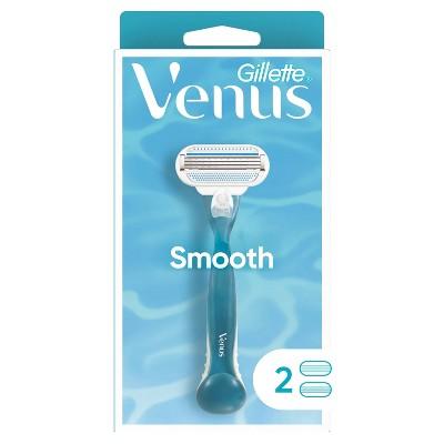 Venus Smooth Women's Razor + 2 Razor Blade Refills