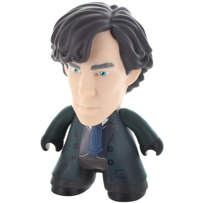 "Titan Books Sherlock 4.5"" Sherlock Holmes Titan Vinyl Figure"