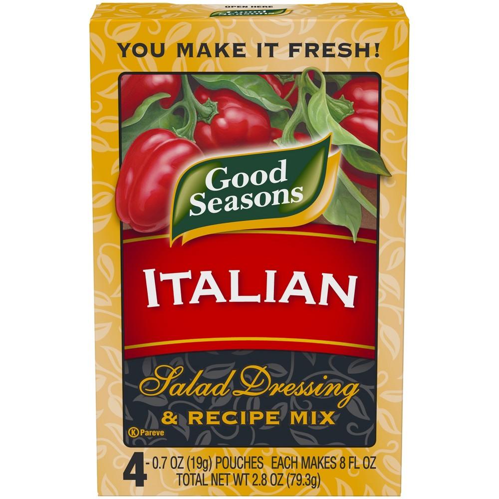 Good Seasons All Natural Italian Salad Dressing & Recipe Mix 4 ct