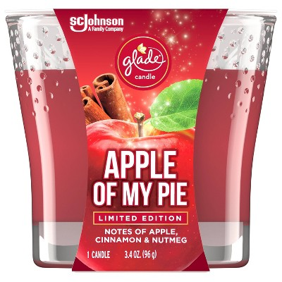 Glade Jar Candle Apple Of My Pie - 3.4oz
