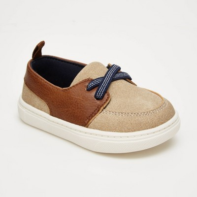 Baby Boys' Sailor Boat Shoes - Just One You® made by carter's Khaki