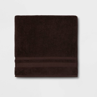 Performance Bath Sheet Dark Brown - Threshold™