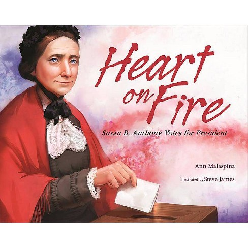 Heart on Fire - by  Ann Malaspina (Hardcover) - image 1 of 1
