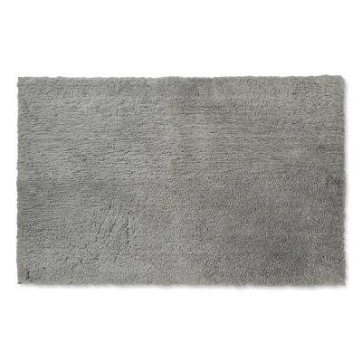 38 x24  Tufted Spa Bath Rug Gray - Fieldcrest®