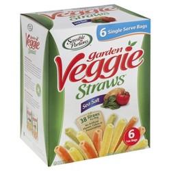 Sensible Portions Garden Veggie Straws Sea Salt - 6ct