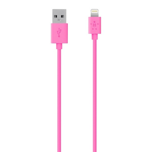 Belkin MIXIT↑ 4' Lightning to USB ChargeSync Cable - Pink - image 1 of 1