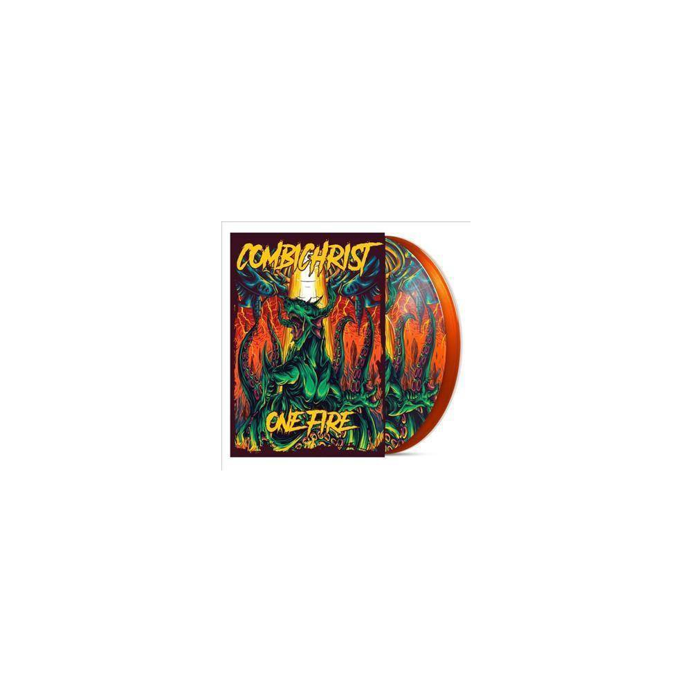 Combichrist One Fire 2 Lp Orange Vinyl