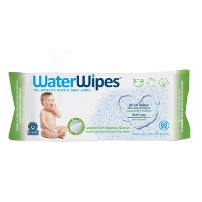 WaterWipes Soapberry Baby Wipes - 60ct