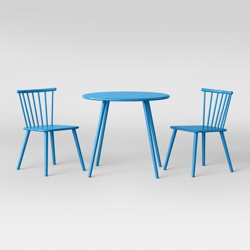 5cf5470e90e7 Metal Windsor Table And Chair Set Turquoise Dream - Pillowfort™   Target